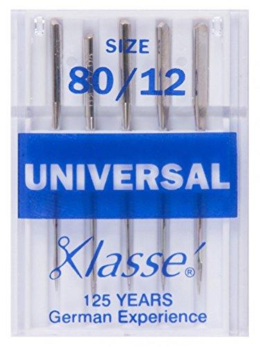 Klasse Machine Sewing Needles Universal 80/12