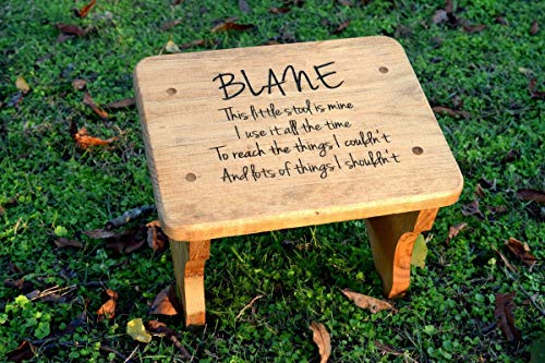 (Personalized Kids Stepping Stool - Kids Step Stool - Personalized Gift for Kids - Step Stool - Wood Stool)