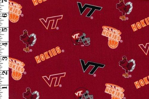Virginia Tech Fleece Blanket (Virginia Tech - 100% Cotton, 44