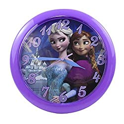 Disney Frozen Anna & Elsa Wall Clock - 10