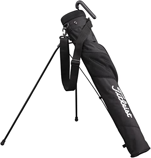 Titleist Adaptive Club Case Caddie Stand Bag, AJSSB71, Black