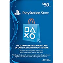 PlayStation Network Card - $50 Gift Card Edition