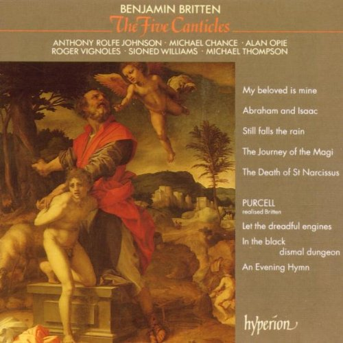 Cover of Britten: The Five Canticles; 3 Purcell Realizations