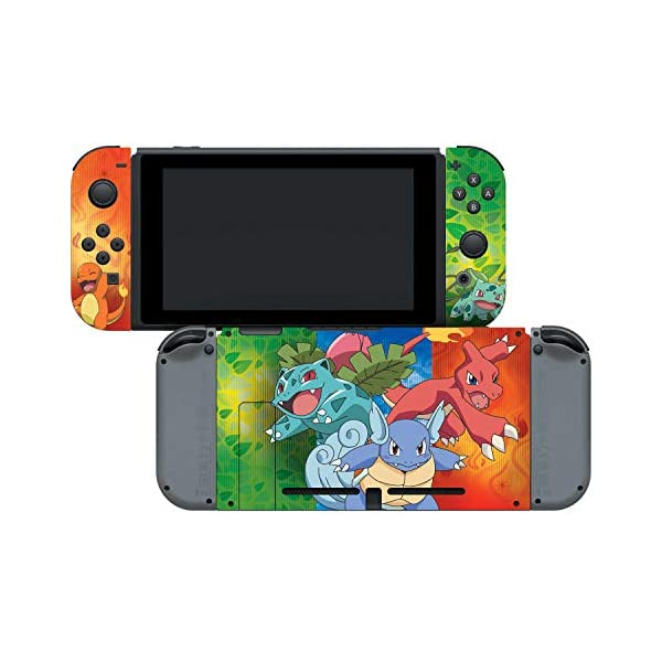 Controller Gear Nintendo Switch Skin & Screen Protector Set - Pokemon - Kanto Evolutions Set 1 - Nintendo Switch 6