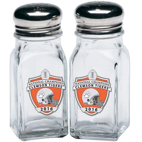 Heritage Pewter Clemson Tigers 2016 National Champs Salt & Pepper Shaker