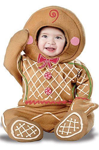 [Gingerbread Man Infant Costume] (Legend Of Sleepy Hollow Costumes)