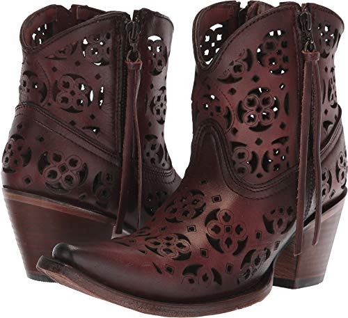 Corral Boots Women's C2968 Wine 5.5 B US B (M)