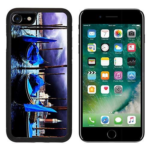 MSD Apple iPhone 8 Case Aluminum Backplate Bumper Snap Case Image 19806858 Venezia Travel Romantic ()