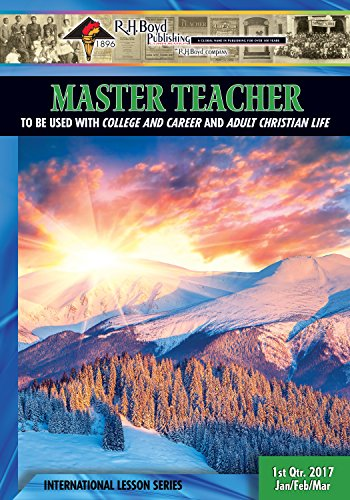 Master teacher 1st quarter 2017 sunday school kindle edition master teacher 1st quarter 2017 sunday school by publishing corp fandeluxe Images