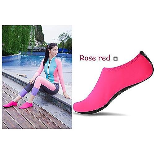 85% OFF SUADEX Unisex Hombre Mujer Zapato de Agua Zapatos de Playa natación  Surf Escarpines e3bdd600fb8
