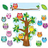 Carson Dellosa Colorful Owls Behavior Bulletin Board Set (110226)