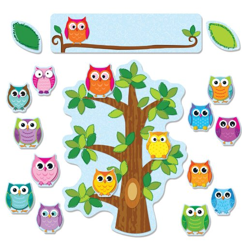 owls classroom behavior management bulletin board decoration