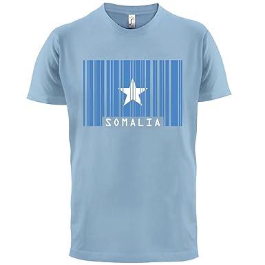 Somalia / Bundesrepublik Somalia Barcode Flagge - Herren T-Shirt -  Himmelblau - L