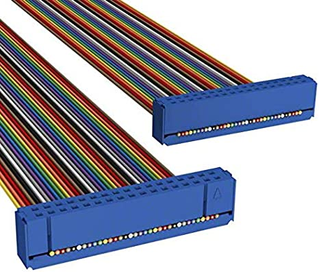 Pack of 10 C3AAS-3436M CSC34S//AE34M//CSC34S IDC CABLE