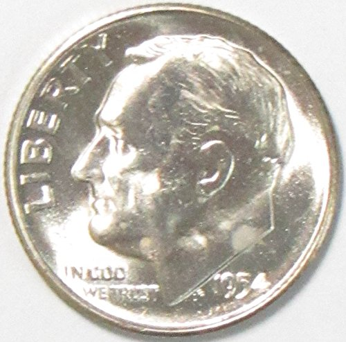 1954 S Silver Roosevelt Dime 10C Brilliant Uncirculated
