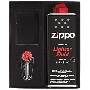 Zippo Gift Kit Regular(Lighter sold separately)
