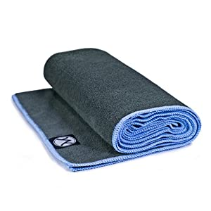Youphoria Yoga Towel - (Available in 2 Sizes, 5 Colors) - Microfiber Hot Yoga Towel, Protect Your Yoga Mat and Improve Your Grip! - Perfect for Bikram Yoga Towel, Ashtanga Yoga Towel, Hot Yoga Towel - Non Slip, Skidless Once Dampened - Ultra Absorbent, Machine Washable - 100% Satisfaction Guarantee!