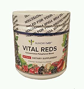 Gundry MD Vital Reds, 1 Jar,Net 4oz(112.95g)