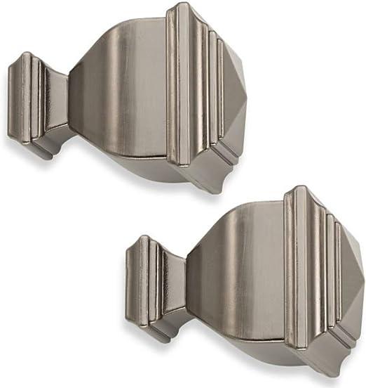 Cambria Classic Torch Finials in graphite