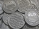 Set of 10 Police Pocket Token Coins