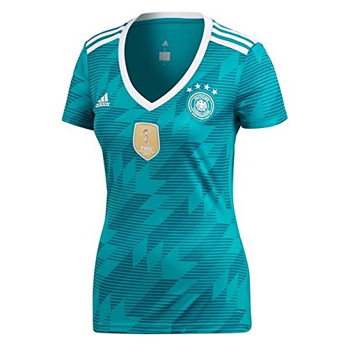 adidas 2018-2019 Germany Away Womens Football Soccer T-Shirt Jersey