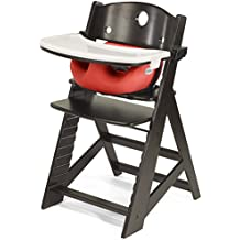 Keekaroo Height Right Highchair with Infant Insert and Tray - Cherry