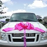 "23"" Pink Car Bow"