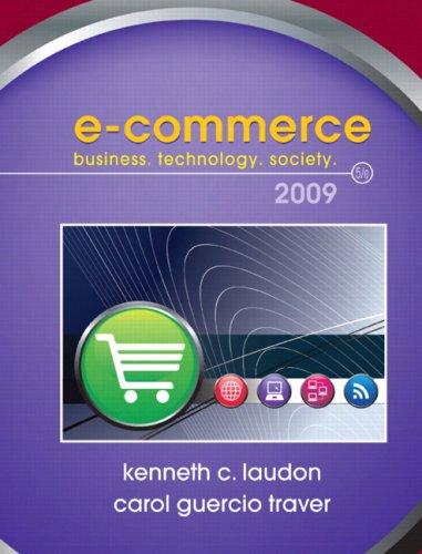 E-Commerce 2009 (5th Edition)