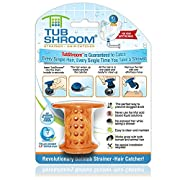 Amazon #DealOfTheDay: TubShroom TSORA454 The Revolutionary Tub Drain Protector Hair Catcher/Strainer/Snare, Orange