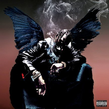 ultimate poster ALBUM COVER POSTER TRAVIS SCOTT: BIRDS IN THE TRAP SING McKNIGHT 12x18