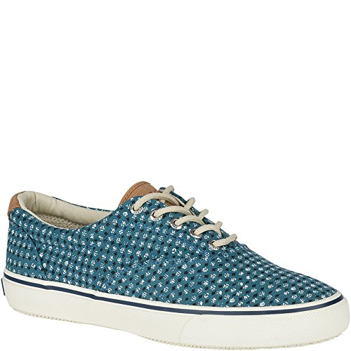 Sperry Top-Sider Herren Striper LL CVO Fashion Sneaker Gealterte blaue Leinwand