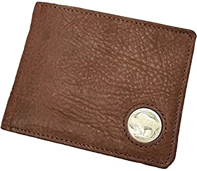 5bef0620978c Image Unavailable. Image not available for. Color: American Bison Buffalo  Nickel Men's Bifold Wallet