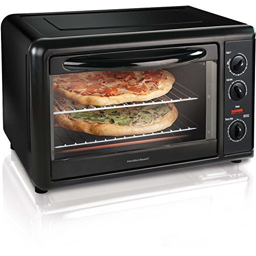 Hamilton Beach Countertop Toaster Oven with Convection, Black | 31121A by Toaster Ovens