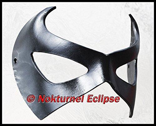 Leather Mask Halloween Costume UNISEX (Girls Magic Hat Bunny Costume)