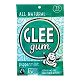 Glee Gum Chewing Gum - Peppermint - Case Of 6-75 Count