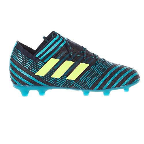adidas Nemeziz 17.1 Firm Ground� Soccer Cleats - Legend Ink/Electricity/Energy Blue - Boys - 5.5