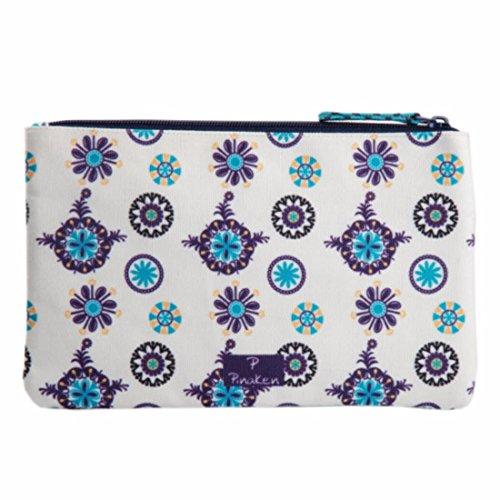 Amazon.com: Dos cremalleras multifunción bolsa de tela bolsa ...
