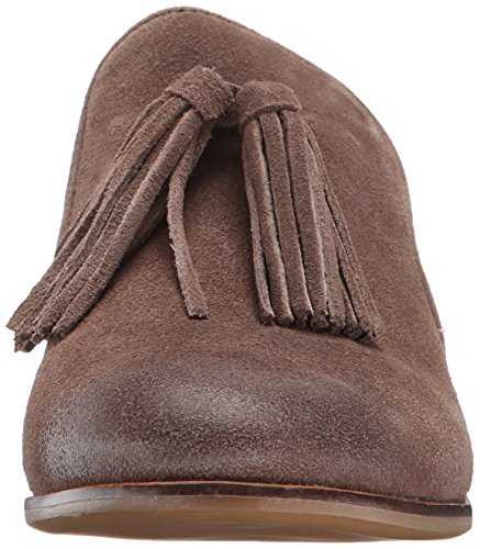 Steve Madden Mujeres Create Oxford Taupe Suede