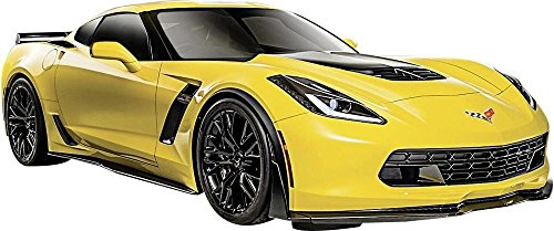 (New 1:24 W/B SPECIAL EDITION - YELLOW 2015 CHEVY CORVETTE Z06 Diecast Model Car By)
