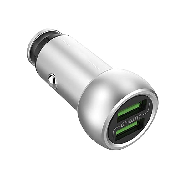 Amazon.com: CARWORD Car Charger 5V 3.6A Compatible iPhone X ...
