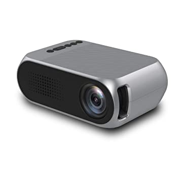 Proyector de vídeo, LED Mini Proyectores 1080P Entrada portátil ...