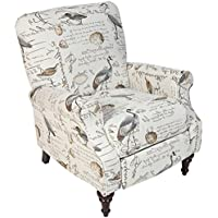Porter Designs ACR809 Aviary Pushback Chair  , One Size, Cream