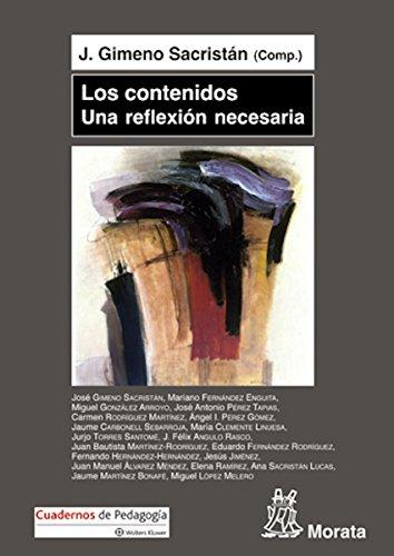 Los contenidos, una reflexión necesaria (Spanish Edition)