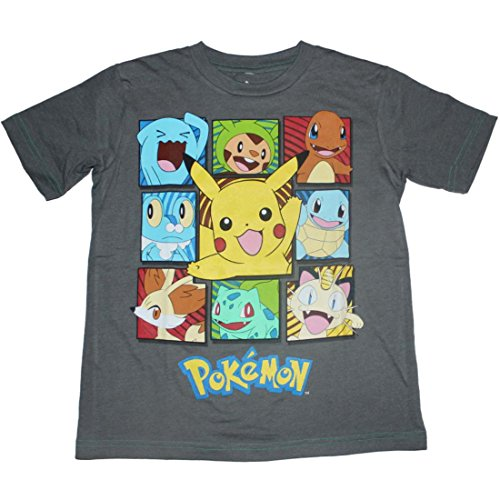 Pokemon Boxes Boys T-shirt 4-16 (Medium (8/10))
