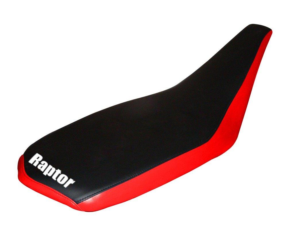 Yamaha Raptor 660 Red Logo Seat Cover
