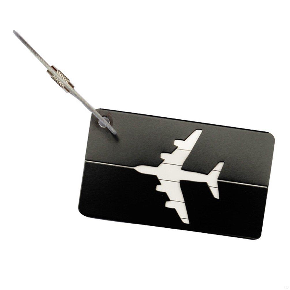 SLBGADIEME Case Labels Travel Luggage Accessories Labels Bag A Luggage Tag Travel Bag Luggage Label Tags Handbags Travel Id Tags Travel Bags Hand Luggage Tag Tag 7 Items Black