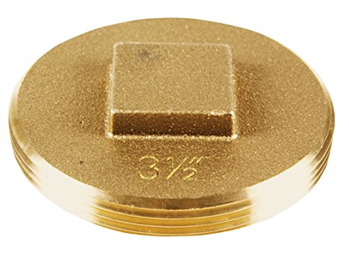 Cleanout 0.5 Plug (Oatey 42373 185 Brass Cleanout Plug, 3-1/2-Inch)