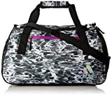 adidas Squad Duffel Bag, Ponder/Black/Shock Purple/Shock Pink/White/Reflective, One Size