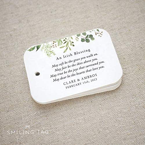 Irish Wedding Blessing Gifts: Amazon.com: An Irish Blessing Personalized Gift Tags