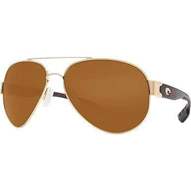 77c4e857a Costa Del Mar Sunglasses - South Point- Plastic / Frame: Gold Lens:  Polarized